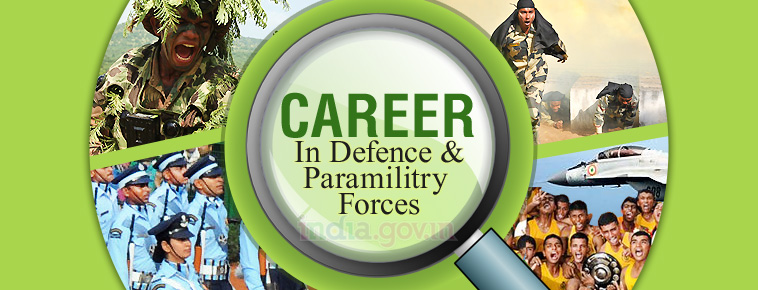 Career in Defence Paramiltiary Forces