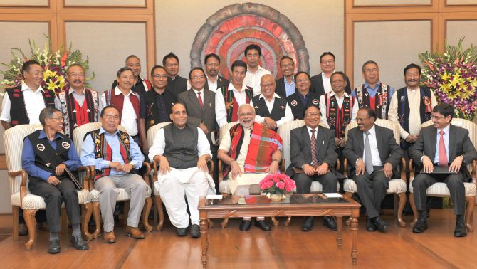 Naga Accord signed after 35 years of fighting