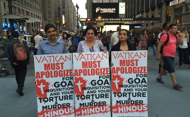 'VATICAN MUST APOLOGIZE FOR GOA INQUISITION
