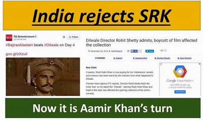 India rejects SRK