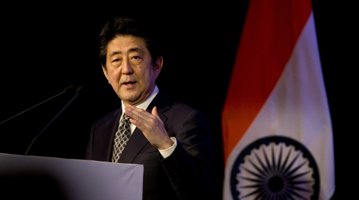 PM MODI MOVING AT BULLET TRAIN SPEED ACCORDING TO JAPAN'S PM