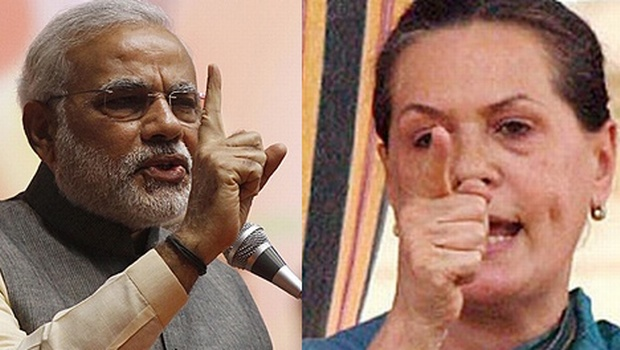 DEMOCRATIC SONIA VS DICTATORIAL MODI ?