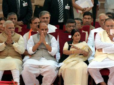 Narendra Modi & his cabinet