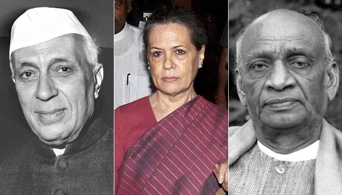 Nehru Sonia Patel