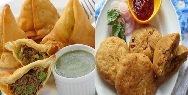 Samosa and Kachori