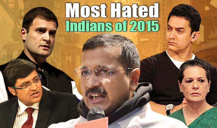 List of Most Hated Indians
