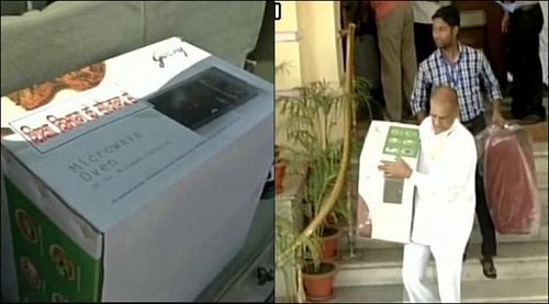 Bihar MLA's get microwaves as gifts