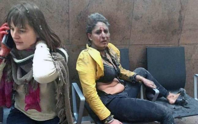 Jet Airways - Brussels Attack