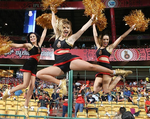 Vivo IPL 2016 Cheerleaders