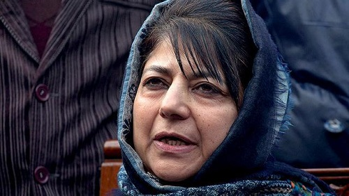 Pain in Kashmir: Mehbooba Mufti