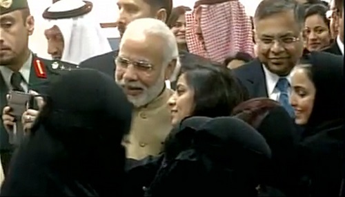 PM MODI is the first PM to visit Saudi Arabia in decades.
