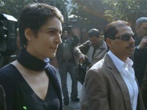Robert Vadra & Priyanka Gandhi