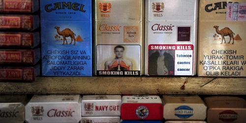 Pictorial Warnings on Tobacco Packets