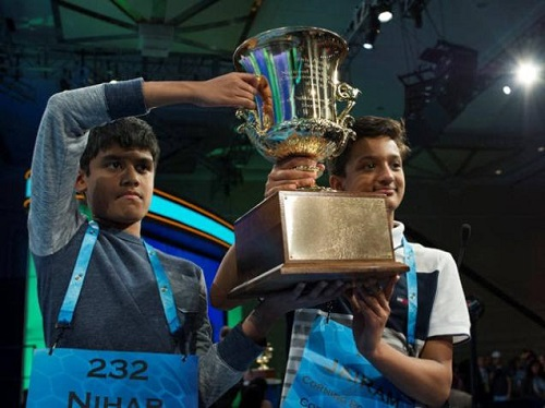 US Spelling Bee Winners Are All Indian-Americans