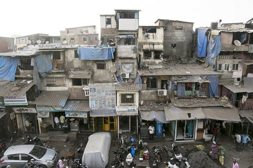 Mumbai Slums Have Their Own 4 Or 5 Story High-Rise Huts