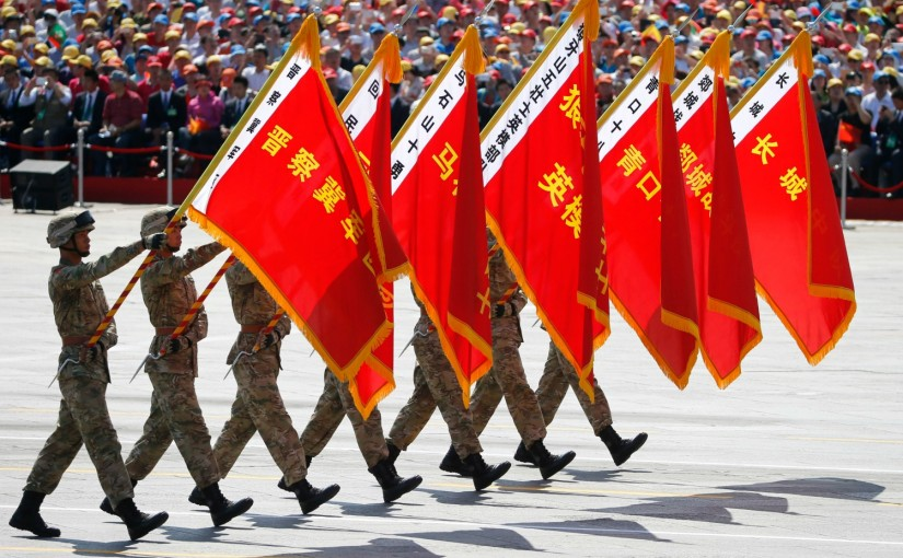 Chinese Soldiers Really Stupid... Cross Border To Hand Over Chocolates