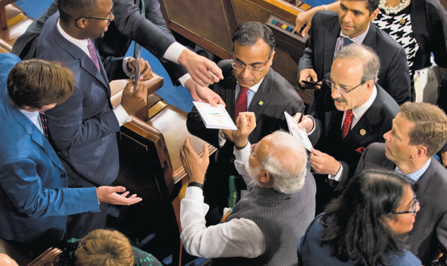 US Lawmakers Falling Over Each Other To Get PM Modi's Autobiograph