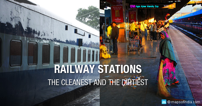 Cleanest And Dirtiest Railway Stations in India