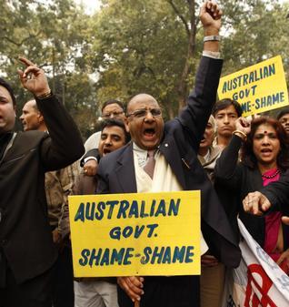 India Australia Shame