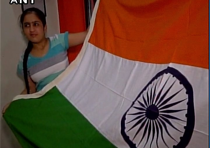 Jhanvi Will Hoist Indian Tricolor on 15th Aug