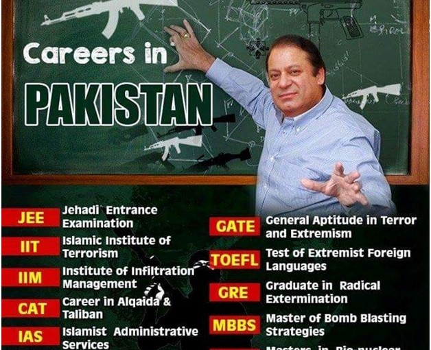 Pakistan Has Only Terror Jobs... Just Look