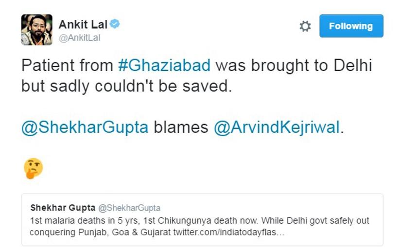 Chikungunya Hits Delhi Badly, But Delhi Cm Kejriwal & Govt Out Of Delhi