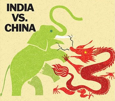 China Feels Pressure From Indian Manufacturing Sector