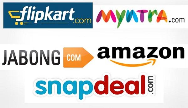 Flipkart, Snapdeal, Amazon - No Discounts But Massive Sales