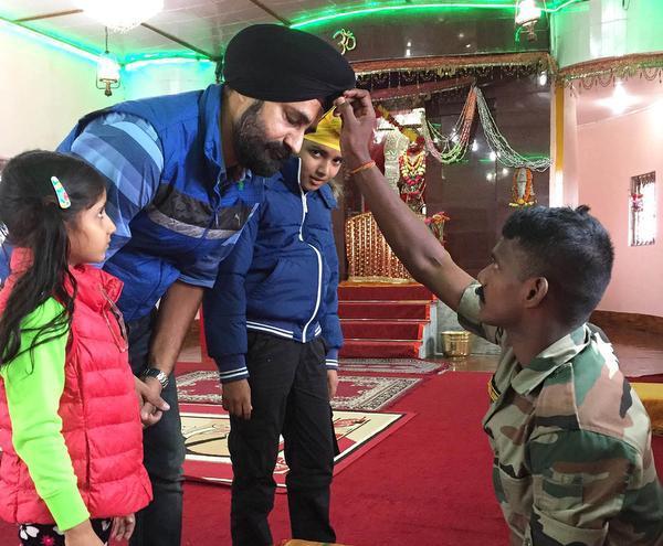 Indian Army Runs Hanuman Tok