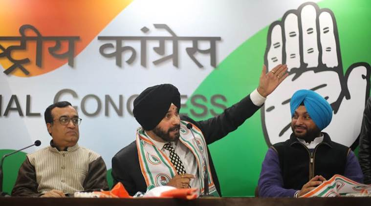Navjot Sidhu Joins Congress