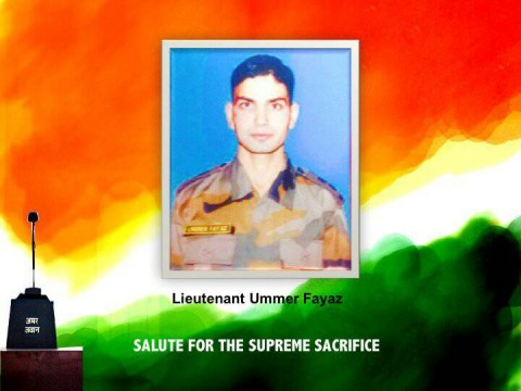 Kashmir Soldier Umar Fayaz Receives Nations Tributes From Kashmir To India Gate