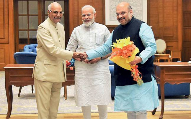 Selection of Shri Kovind, India's Next President - Was Tightly Kept Secret...
