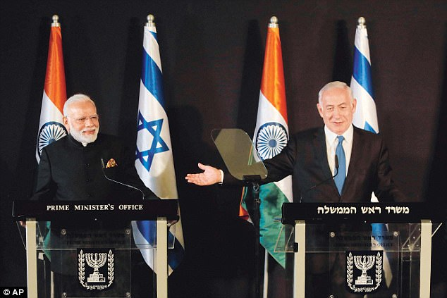 Israel Says Ties With India Are Heavenly...