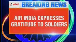 Well Done Air India - Soldiers Will Board First, Ahead of First & Business Class