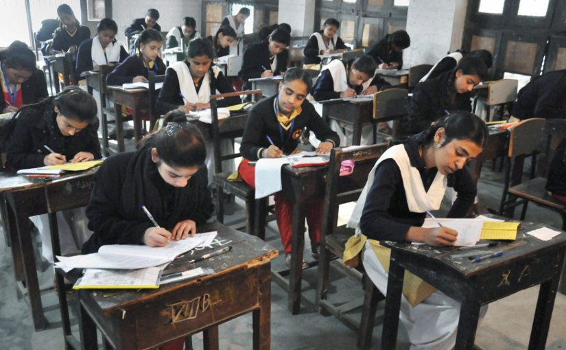 UP Board Exams - 5 Lakhs Miss Or Skip It Due To Massive Crackdown On Cheating...