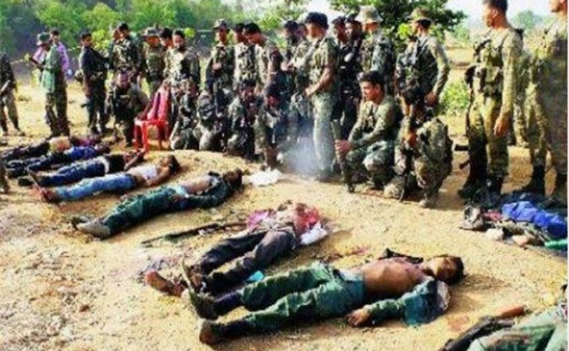 Major CRPF Success - 27 Naxalites Killed In Operation...