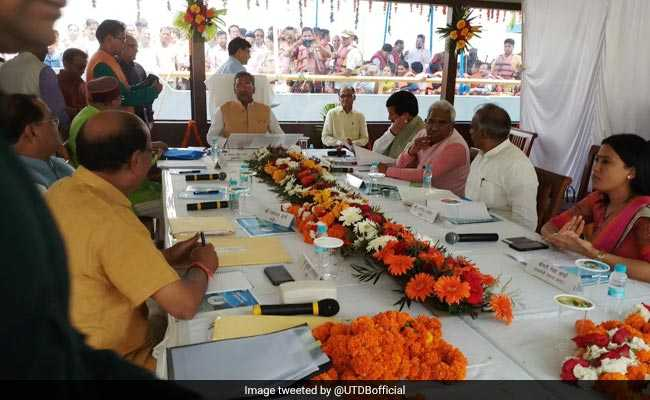Cabinet Meeting On A Floating Restaurant - Our Unique Way To Promote Tourism...