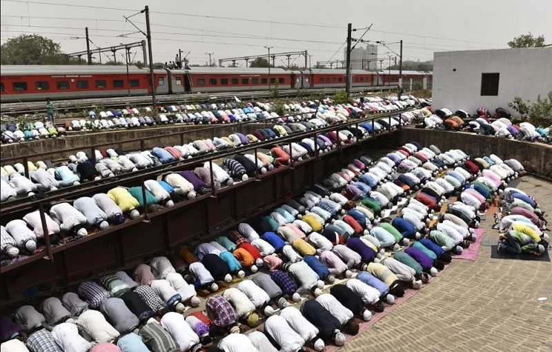 Court Ordered To Remove Structures Erected To Offer Prayers In Public...