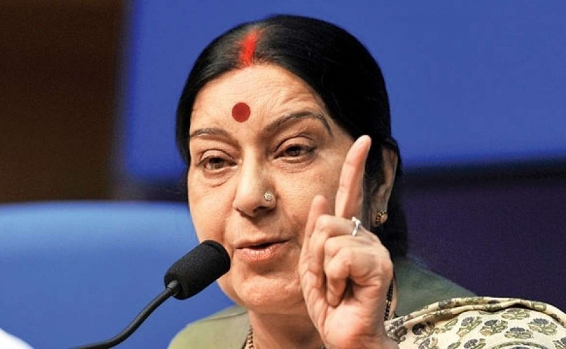 Dear Sushma Ji - Focus On The Issue Raised Not The Harsh Language, There Is Nowhere To Hide