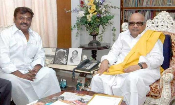 Alliance Formation Led Political Party DMK And DMDK Start Negotiation