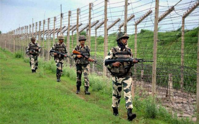 Mortar Shell Fired By Pakistan Army At Jammu And Kashmir Indian Posts