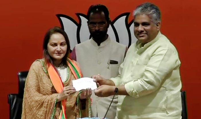 Actor-politician Jaya Prada joins BJP