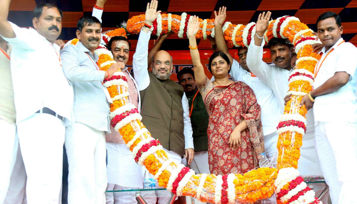BJP, Apna Dal to jointly contest upcoming polls in UP