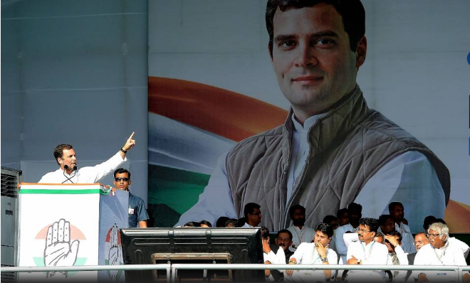 Congress kicks off Lok Sabha poll campaign from the soil of father of the nation ourvoice werindia