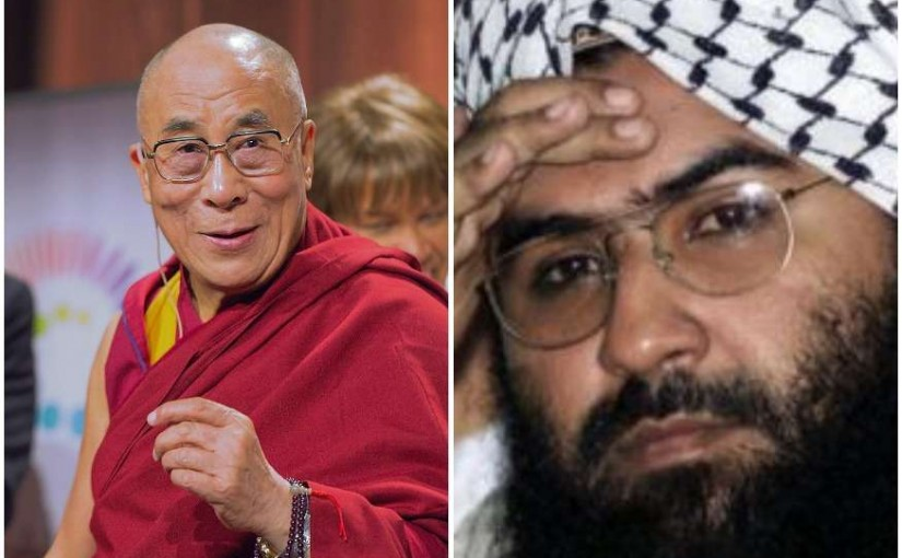 Pakistan Journalist Is Blind As They Find Dalai Lama Activities Like Masood Azhar