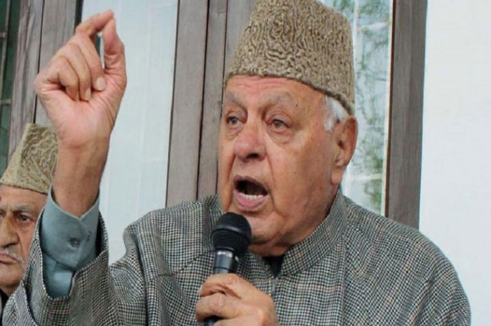 Farooq abdullah makes a controversial statement over Pulwama terror attack