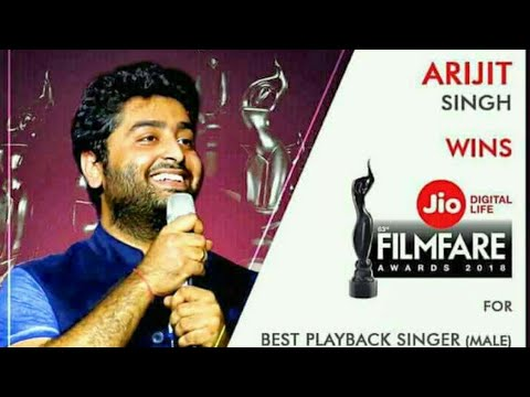 Film fair award male for best singer goes to arjit singh,ourvoice, werIndia