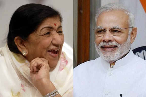 Lata Mangeshkar Records PM Modi's Poem For Jawans; See how PM reacted