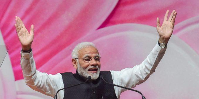 Modi-at-noida-our voice-werindia