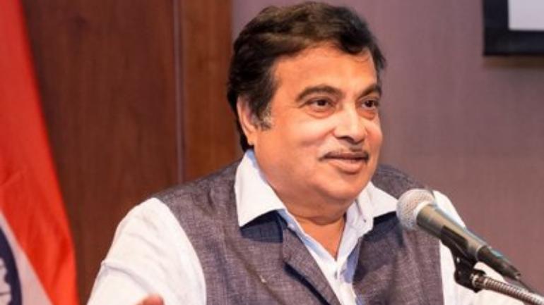 Nitin gadkari filed nomination frimourvoice, werIndia